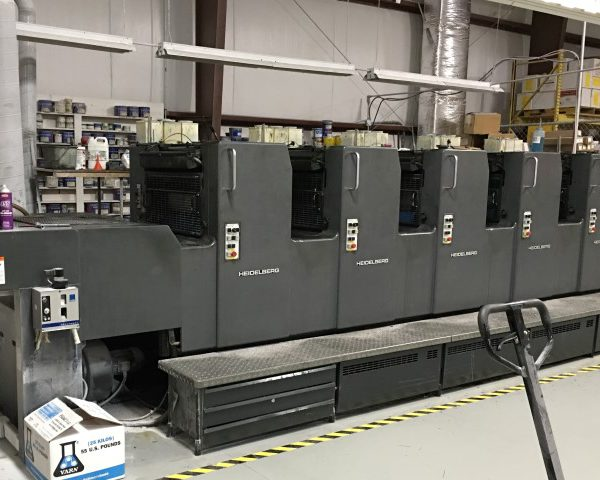 Printing And Bindery Equipment Auction In Indianapolis