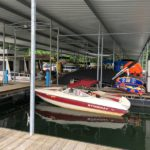Two Separate Covered Boat Slips In Bloomington Indiana
