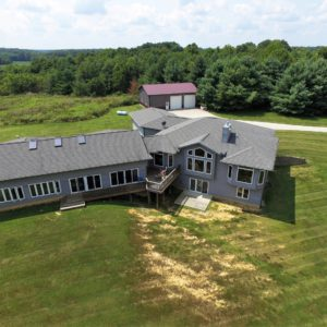 Beautiful, Custom Home On 40 Acres In Holton Indiana